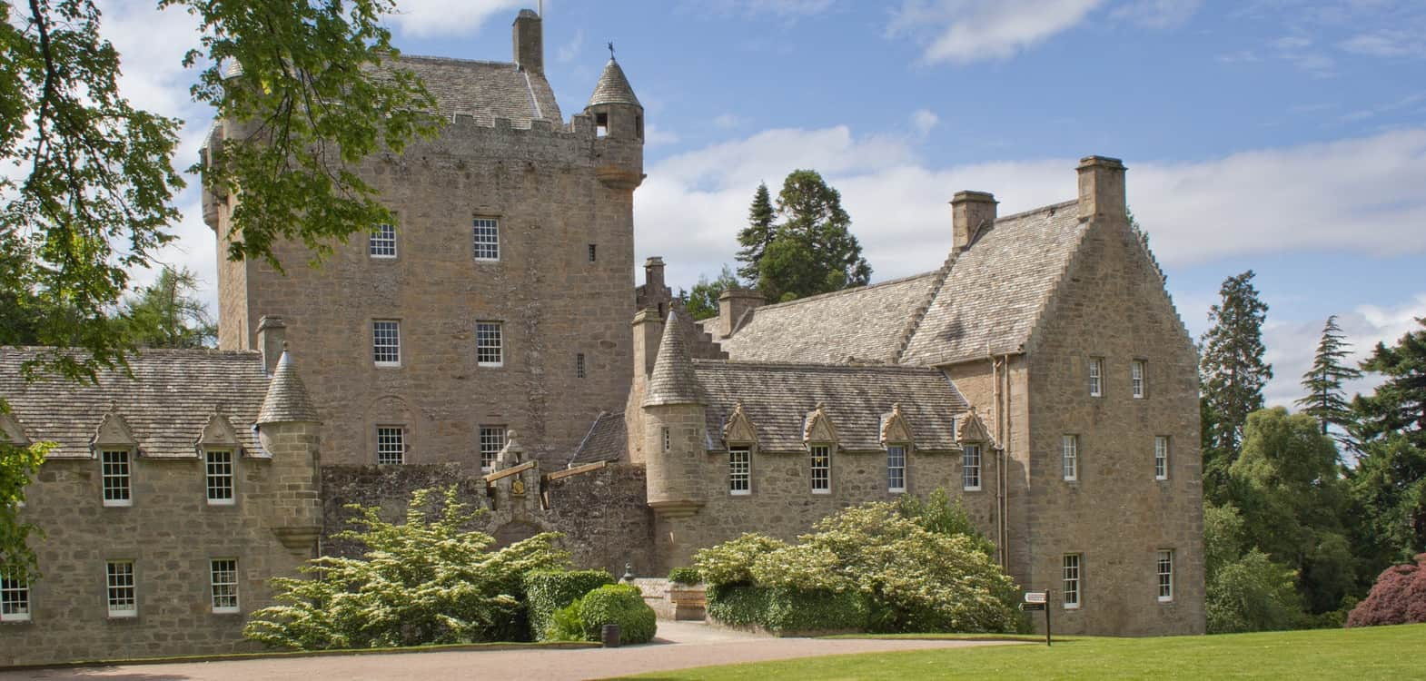 Cawdor Castle in the Highlands of Scotland near the town of Nairn